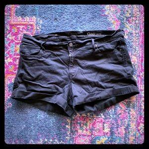 GAP Black Midi Shorts - 16